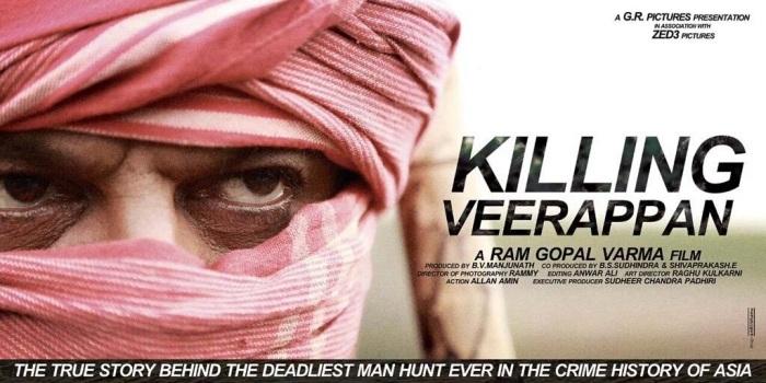 Killing Veerappan Poster